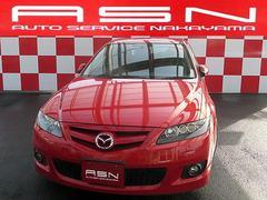 アテンザスポーツワゴン23S 社外車高調 社外マフラー CD ETC キーレス HID