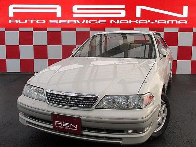 トヨタ マークII グランデ レガリア Gエディション 1オーナー キーレス CD コンビハンドル