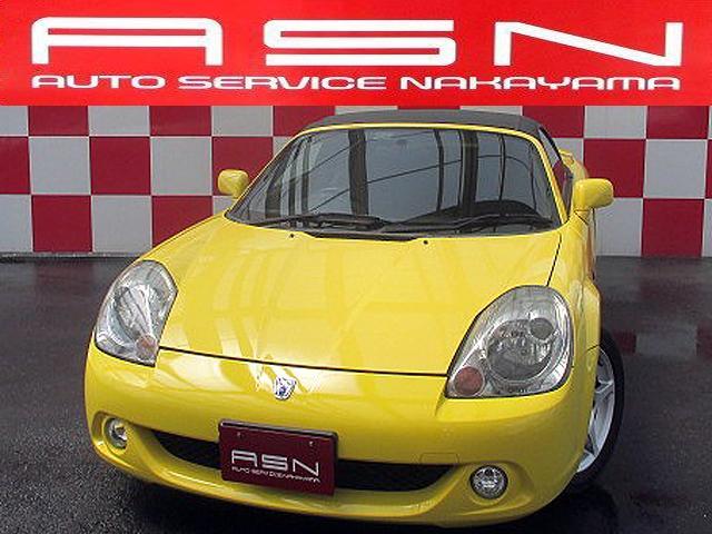 トヨタ MR-S Sエディション SDナビ ワンセグ 社外エキマニ ブリッツ車高調 後期ルック HID ETC リヤスポ 記録簿