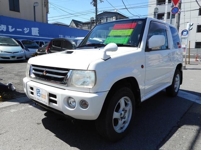 三菱 パールセレクト 4WDターボCD走8.1万キロ検R03年5月