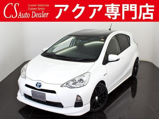 トヨタ G 新品17AW ルーフブラックエアロセレクション HDD