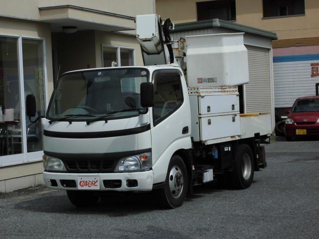 日野 高所作業車 9,7m
