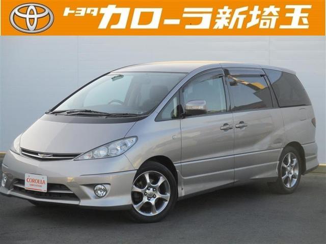 トヨタ アエラス-S 3列シート DVDナビ 純正アルミ