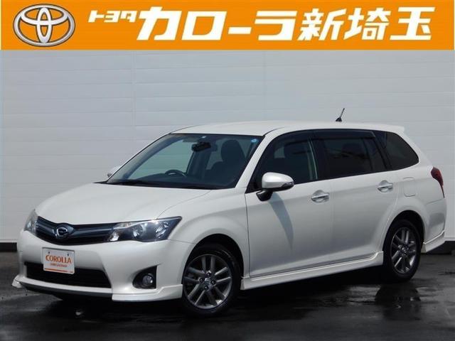 トヨタ 1.5G エアロ メモリーナビ フルセグ スマートキ- CD