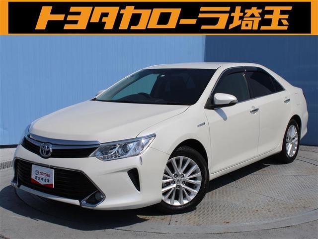 トヨタ カムリ ハイブリッド Gパッケージ SDナビ フルセグTV ETC