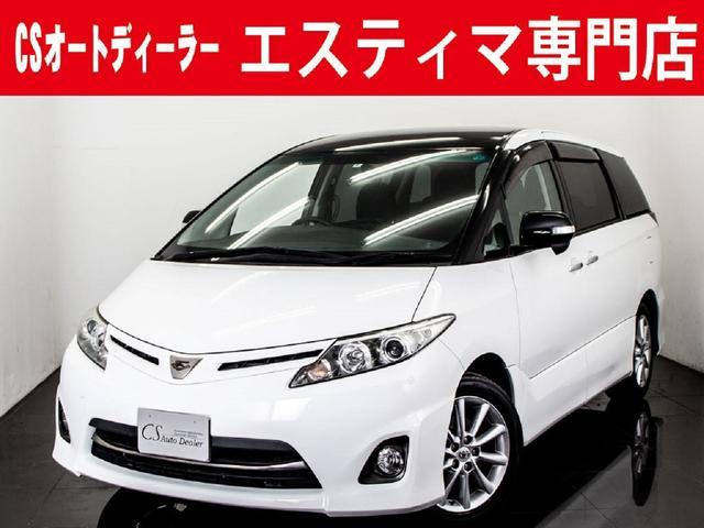 トヨタ 2.4アエラス G-ED 新品19AWローダウン 黒本革