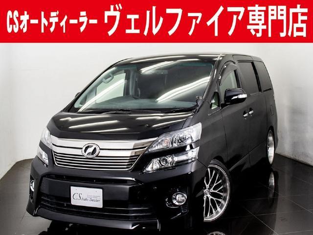 トヨタ 3.5Z Gエディション 黒本革 BIG-X リアモニター
