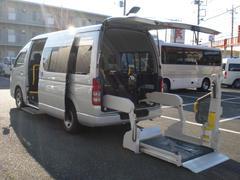 レジアスエースバンウェルキャブAタイプ 福祉車両 車いす固定装置2基 9人乗り