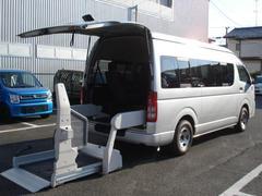 レジアスエースバンウェルキャブAタイプ 車いす2名プラス7名 福祉車 ワイド