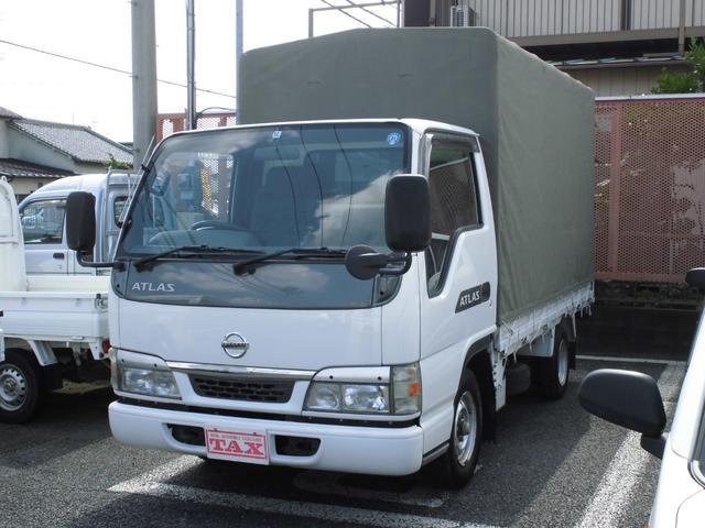 日産 スーパーローDX 幌付 最大積載量1.6t