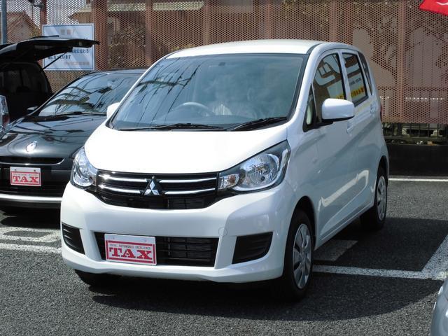 三菱 eKワゴン E  届出済未使用車 運転席シートヒーター キーレス