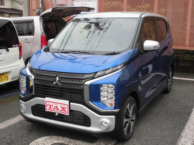 三菱 T e-Assist 先進快適パッケージ 新車見本展示