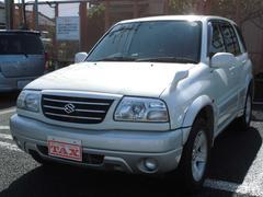 エスクード2000 パートタイム4WD 背面タイヤ 純正16インチアルミホイール Wエアバッグ ABS キーレス付