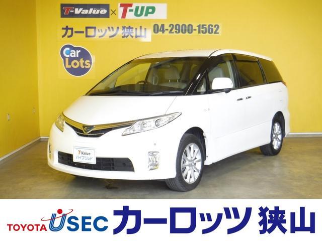 トヨタ G 純正HDDナビ 本革シート 後席フリップダウンモニター