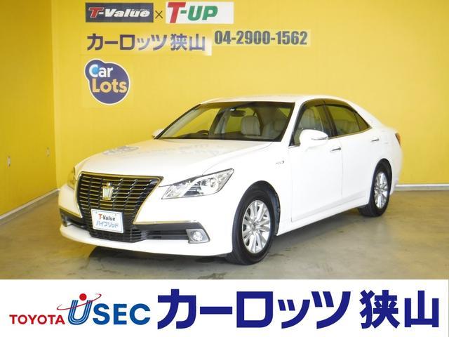 トヨタ ロイヤルサルーン 純正HDDナビ 本革シート シートヒーター