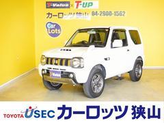 ジムニーランドベンチャー 社外SDナビ 4WD 5MT 背面タイヤ