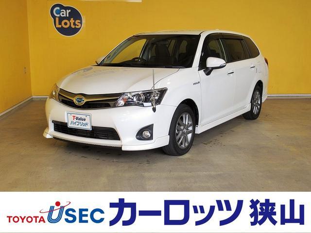 トヨタ 1.5G エアロツアラー・ダブルバイビー 純正SDナビ