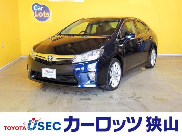 トヨタ G 純正HDDナビ パワーシート シートヒーター ETC