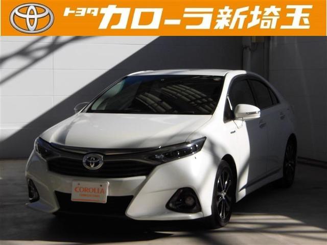 トヨタ G HDDナビ フルセグ パワーシート 純正アルミ CD