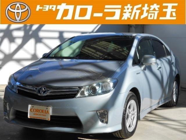 トヨタ S ABS HDDナビ 点検記録簿 純正アルミ フルセグ