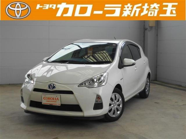 トヨタ アクア G メモリーナビ 点検記録簿 ワンセグ ABS CD