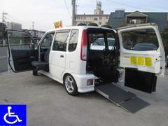 ムーヴ 福祉車両 ニールダウン式スローパー 助手席回転シート付(ダイハツ)