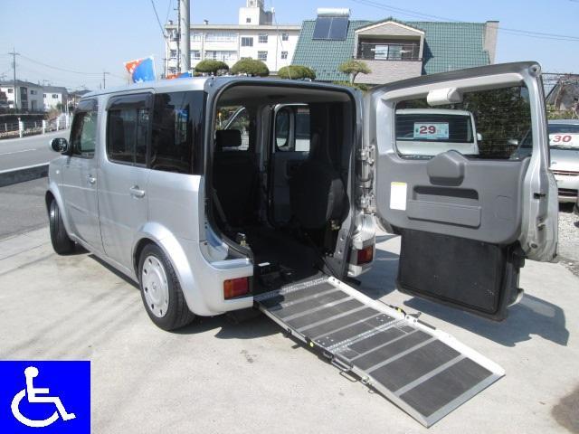 日産 福祉車両 スローパー ニールダウン式 車椅子移動車