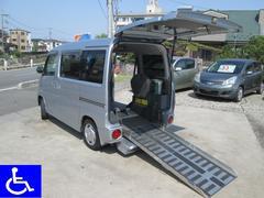 タウンボックス 福祉車両 スローパー ニールダウン式 車椅子移動車 4WD付(三菱)