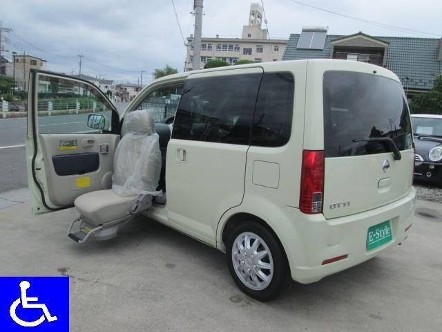 日産 福祉車両 4WD 助手席電動スライドアップシート 左側PSD