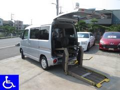 タウンボックス 福祉車両 リフトタイプ 電動固定装置 4AT 社外ナビ付(三菱)