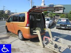セレナ福祉車両 電動リフト 固定装置付 ナビTV ETC付