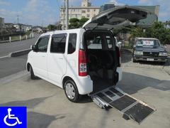 ワゴンR 福祉車両 スローパー 電動固定式 車椅子移動車(スズキ)