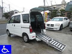アトレーワゴン福祉車両 スローパー 電動固定式 電動ウインチ リアヒーター