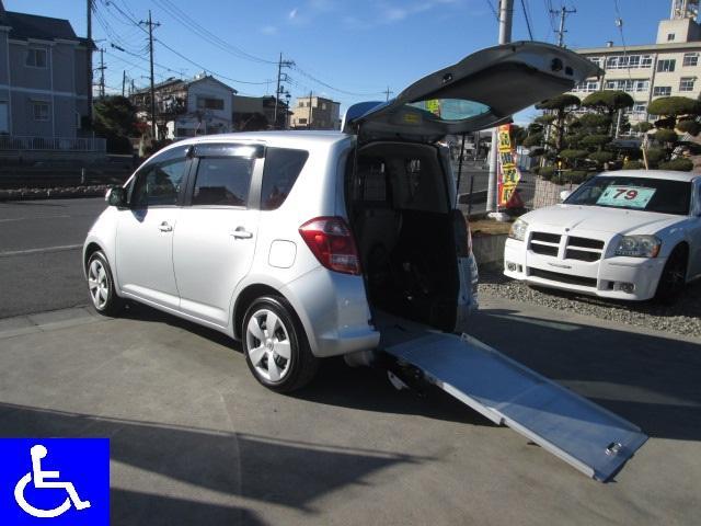 トヨタ G 福祉車両 スローパー 電動固定式 車椅子移動車