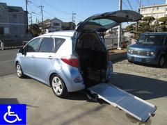 ラクティスX福祉車両 スローパー 電動固定式 車椅子移動車 Tチェーン