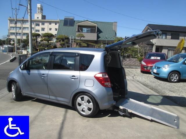トヨタ 福祉車両 スローパー 電動固定式 車椅子移動車 ナビBカメラ