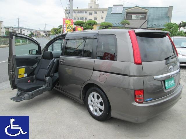 トヨタ プラタナ 福祉車 助手席電動リフトアップシート 左アクセル付