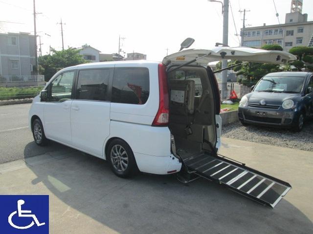 日産 福祉車両 電動スローパー 電動固定式 オートステップ付