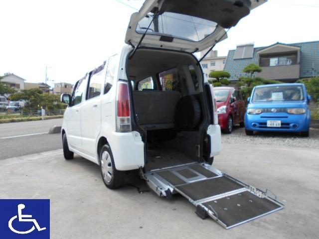スズキ ワゴンR 福祉車両 スローパー 電動固定式 車椅子移動車...