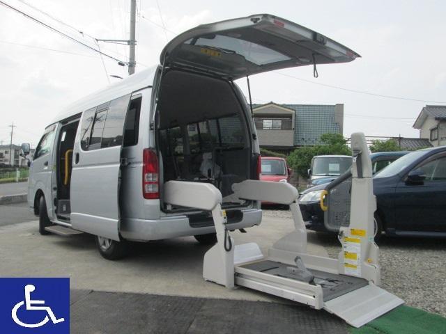 トヨタ 福祉車両 車椅子2基 Bタイプ 10人乗り ナビ TV付