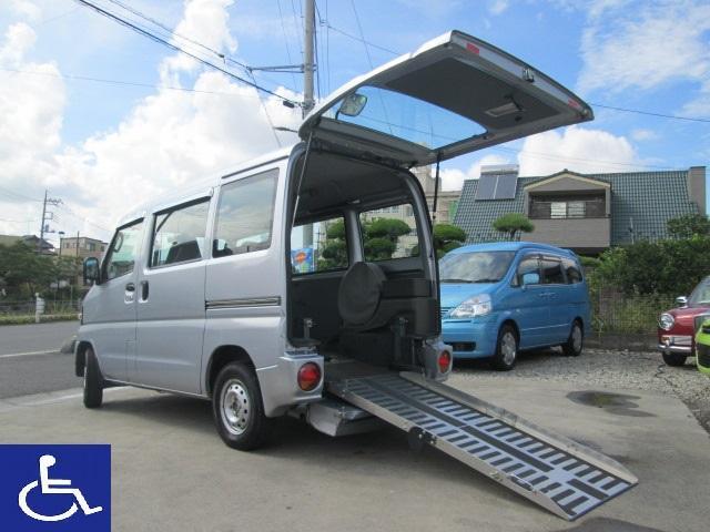三菱  福祉車両 4AT ニールダウン式 車椅子移動車