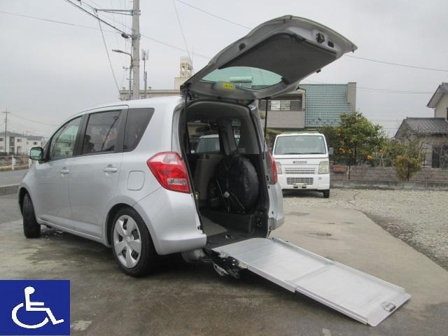 トヨタ  福祉車両 ニールダウン式 スローパー 電動固定式 大人用及び子供用車椅子固定装置付 ワンオーナー 8ナンバー車椅子移動車