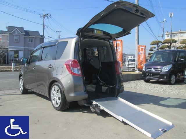 トヨタ ラクティス G 後期型 福祉車両 ニールダウン式 スローパー ナビ ETC バックモニター付