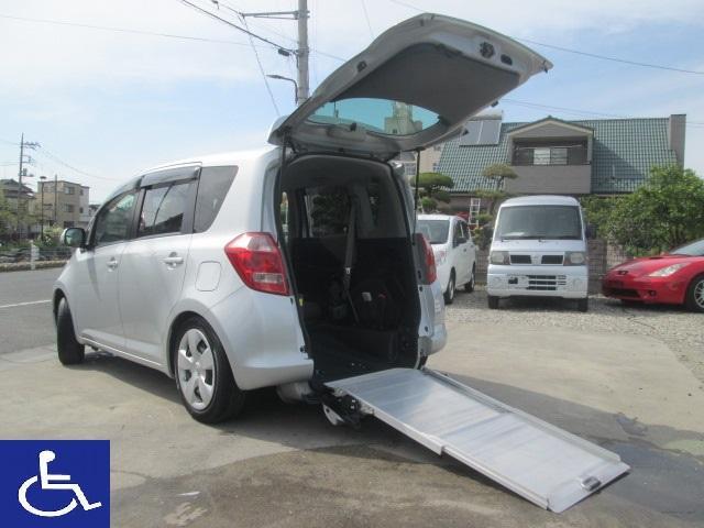 トヨタ ラクティス G 福祉車両 スローパー タイプ1 電動固定式 ナビ TV ETC フロント&リアカメラ ドラレコ クルーズコントロール パドルシフト リアシート有5人乗り