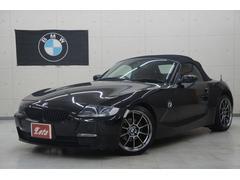 BMW Z4ロードスター2.5i後期6速AT 赤レザー 18AW ナビ