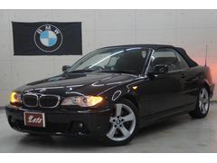 BMW330Ciカブリオーレ 黒革 Bカメラ 電動オープン正規D車