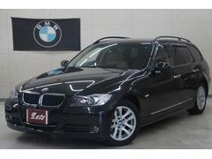BMW320iツーリング ハイライン ベージュ革 新品タイヤ
