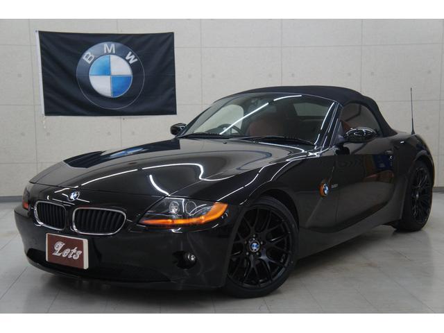 BMW Z4 2.2i赤黒コンビ革 新品18AWタイヤ 電動オー...