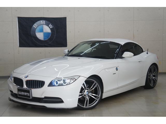 BMW Z4 sDrive23i 新品19AW 新品タイヤ 新品カーボンフロントスポイラー ローダウン フルセグナビ 禁煙車