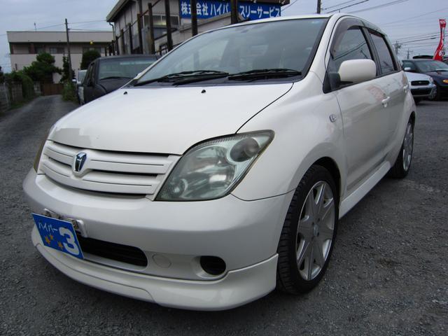 トヨタ 1.3F Lエディション HIDセレクション エアロ ナビ